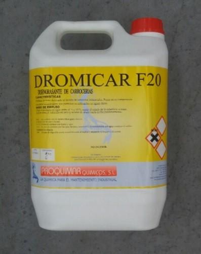 DETERGENTE DESENGRASANTE CARROCERÍAS DROMICAR F20 E0410041 5Lt