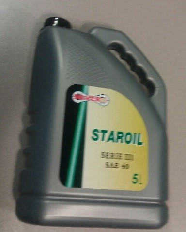 ACEITE MONOGRADO STAROIL SERIE III SAE 40 5Lt